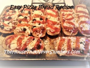 Easy Pizza Bread Recipe