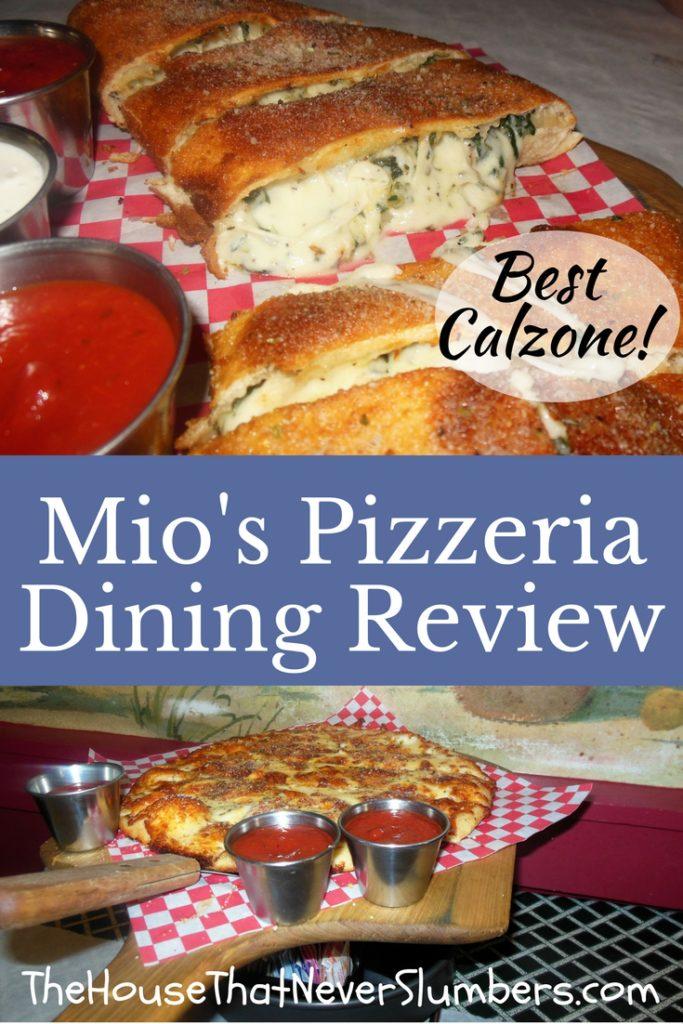 Mio's Pizzeria - Cincinnati, Ohio - Florentine Calzone & Pizza Bites