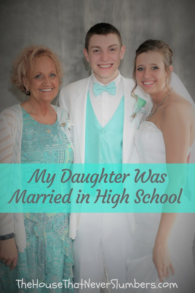 Our oldest daughter was recently married while still in high school. I know that sparks curiosity from some people, and that's understandable. It also, for some reason, sparked hostility from some people. I understand folks being curious, but the hostility was not something I anticipated.