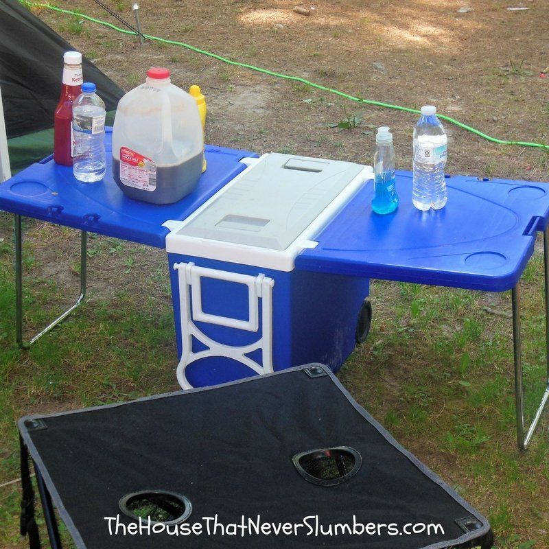 Folding Table Cooler Review - featured