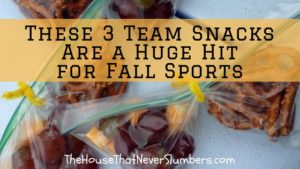 3 Best Team Snacks - title