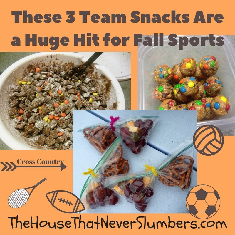 Prepackaged snacks are often expensive and usually packed full of chemicals and preservatives we can't even pronounce. You can provide a fun and tasty team snack that didn't come from a box. These team snacks will be a huge hit for your fall sports!