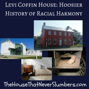 You will not find a finer example of historic preservation in Indiana than the Levi Coffin House. This nugget of Hoosier history was restored to its 19th-century splendor many years ago and has been maintained through the years mostly by the dedication of devoted volunteers. This National Historic Landmark located in Fountain City, Indiana (formerly known as the town of Newport in Levi Coffin's day) was once considered Grand Central Station of the Underground Railroad because of the more than 1000 slaves who passed through the house during their escape to freedom.