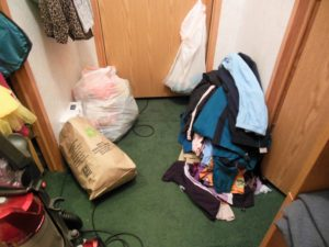 Closet Cleaning for Hoarders - This is not your ordinary closet cleaning tutorial! Join me as I bravely enter the Closet of Doom. Will I escape in one piece? Will I survive the unknown? Will I ever emerge again? Only time will tell.