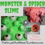 Monster Eyeball Slime & Spider Slime - This crazy slime is super fun and easy to make. It can be made by adding plastic eyeballs, spiders, or any other silly, small toys to your favorite slime recipe! It would make a great party favor. Watch our video tutorial below to find out how to make this slime and learn other slime-making tips from the experts.