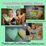 This Incredible Edible Slime only takes 3 common ingredients, and it's so easy to make! Watch our video tutorial below to see just how easy and fun.