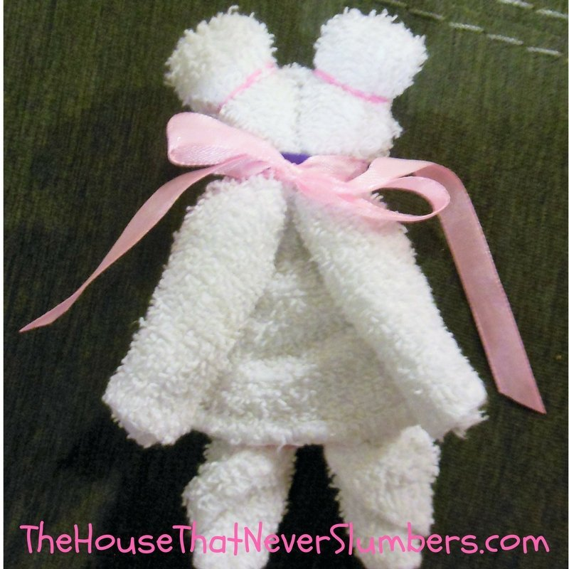 This Washcloth Teddy Bear is so easy to make and just adorable! We will be making these with our youth group this Sunday evening to add to our shoeboxes for Operation Christmas Child through Samaritan's Purse. This gives our youth a chance to really get involved with the Christmas shoeboxes. We want them to experience the blessing of giving to others this Christmas season.