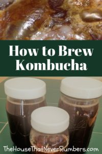 Kombucha is a fermented tea brewed from a starter SCOBY (Symbiotic Culture Of Bacteria and Yeast). It has loads of healthy bacteria and yeast needed by the body for proper gut health. The probiotics in Kombucha work in a similar way to the acidophilus cultures in yogurt, but it contains a different variety of beneficialbacteria.