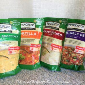 Survival Food - Winter Storm Soups