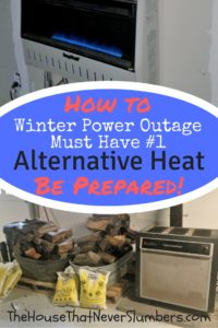 Winter Storm Preparedness - Alternative Heat without Electricity - All the times that we've had longterm power outages going back as far as I can remember have been the result of winter weather conditions. This means, in our area, having a way to heat your home that doesn't rely on the electrical grid is vital to survival.