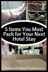 5 Simple Items You Must Pack for Your Next Hotel Stay - Pinterest 1