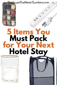 5 Simple Items You Must Pack for Your Next Hotel Stay - Pinterest 2