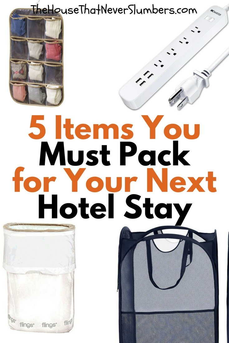 5 Simple Items You Must Pack for Your Next Hotel Stay - #travel #hotelhacks #traveltips