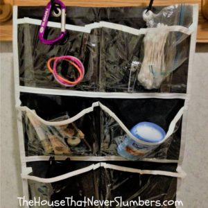 5 Simple Items You Must Pack for Your Next Hotel Stay - hanging pocket organizer