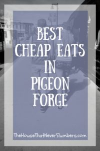 Best Cheap Eats in Pigeon Forge - Pinterest 1