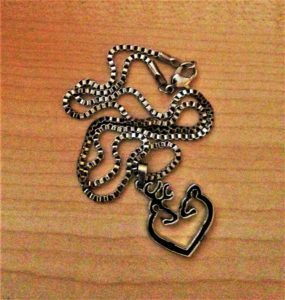 Browning Heart Necklace - Valentine's Gift
