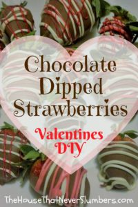 Chocolate Dipped Strawberries DIY Valentines - Pinterest 2