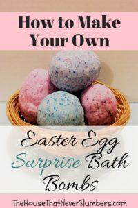 Easter Egg Surprise Bath Bombs - Pinterest 2