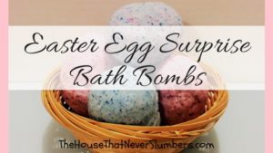 Easter Egg Surprise Bath Bombs - title