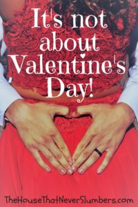 It's Not About Valentine's Day - red dress, heart