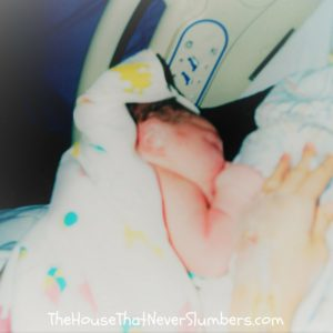 5 Substantial Ways My Hospital Birth Sabotaged Breastfeeding - Part 2 - featured newborn baby nursing