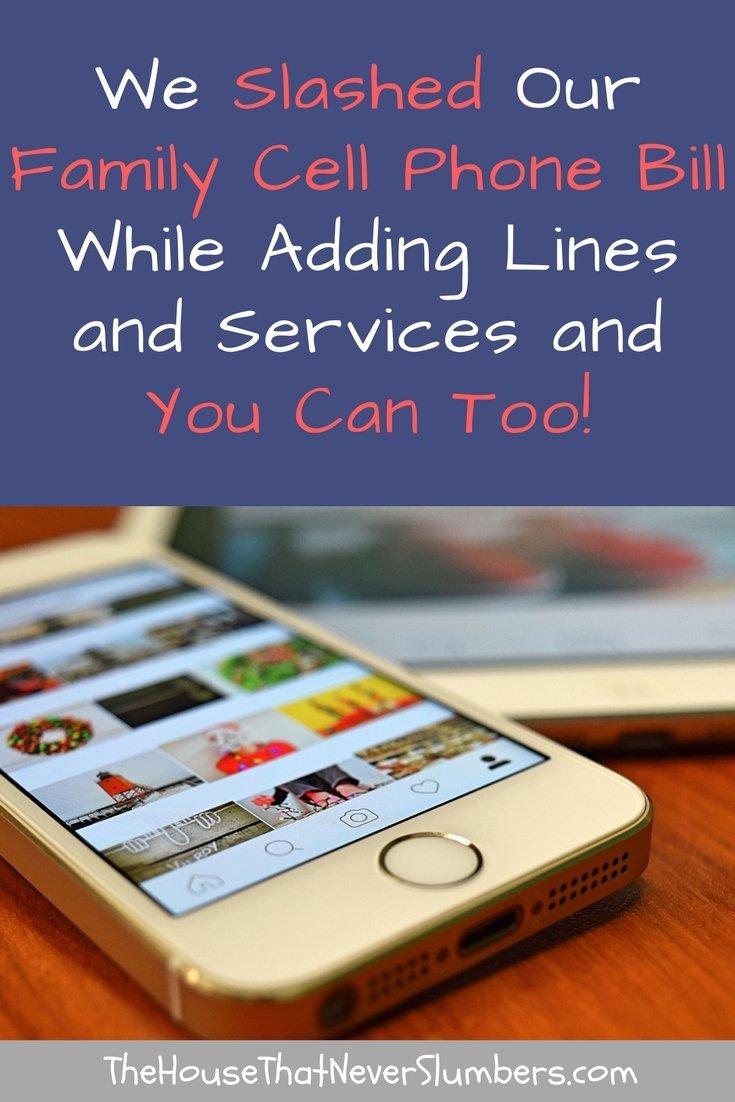 Best Family Cell Phone Plan - Pinterest 2