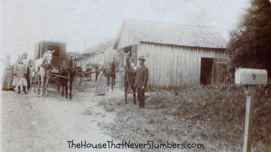 Way Back Wednesday - Bloomingport Livery Stable Randolph County, Indiana