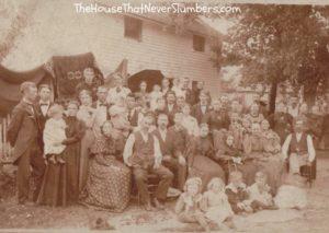 Way Back Wednesday - John & Nancy McMullen Bales Reunion 1896 - featured