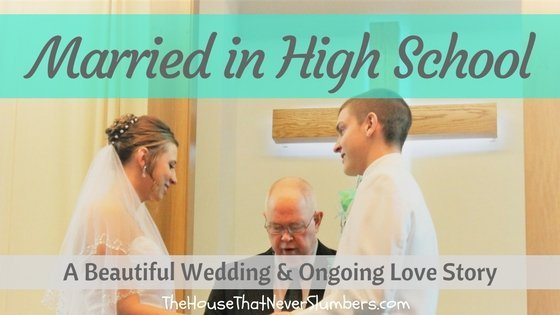 Wedding - Married in High School - title