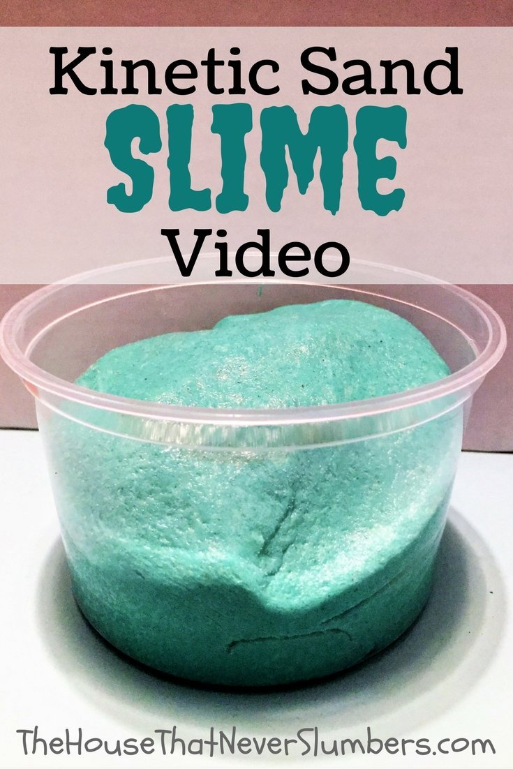 Kinetic Sand Slime Video - Pinterest 1