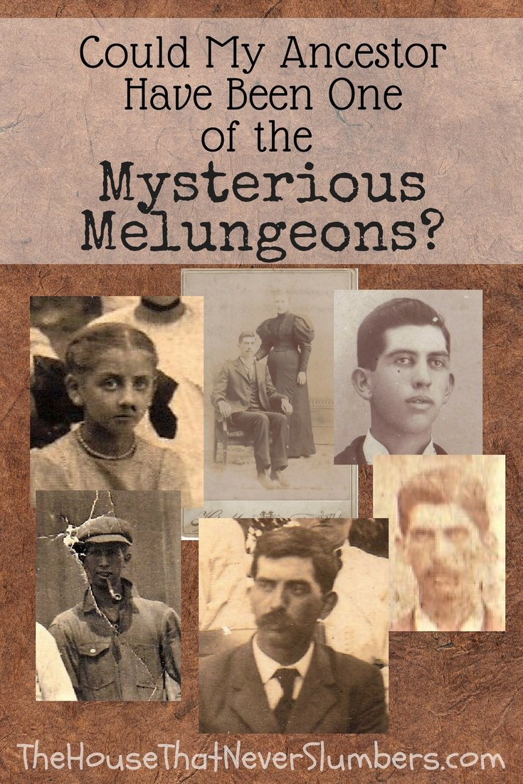 Way Back Wednesday - Could My Ancestor Have Been One of the Mysterious Melungeons - Pinterest 1