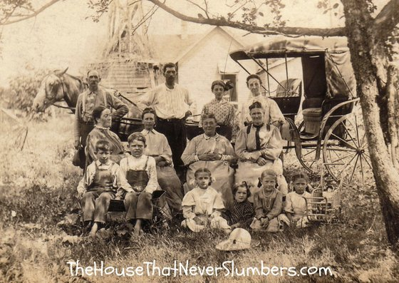 Bales, Huber, Oberender, and Mercer of Bloomingport, Indiana [Genealogy Photo] - #genealogy #familytree #familyhistory #ancestry #indiana #history #ancestors