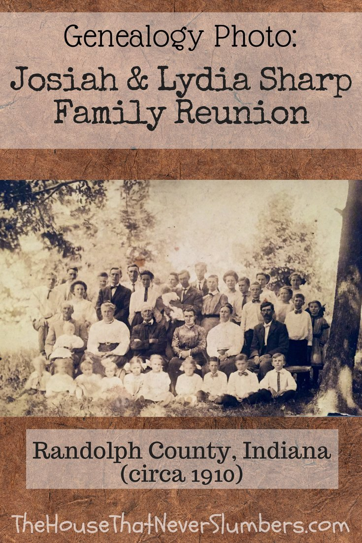 This Family Reunion Looks Sharp [Genealogy Photo]- Pinterest 1