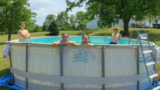 13 Reasons You Need a Summer Waves Pool Right Now - kids in pool #summer #swimmingpool #pool