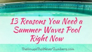 13 Reasons You Need a Summer Waves Pool Right Now - #summer #swimmingpool #pool