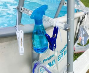 Cheap and Easy Dollar Store Pool Hacks - storage clips #swimmingpool #pooltime #poolhacks #poolcare #summertime