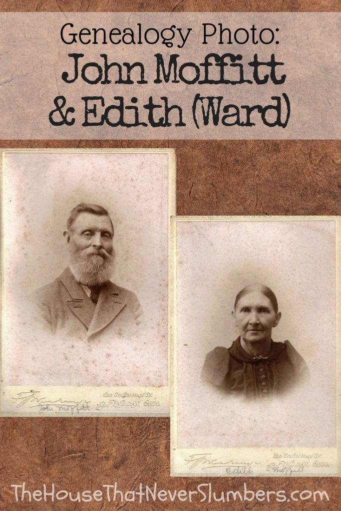Thomas Ward Revolutionary War Mystery Solved and Pictures of Ward-Moffitt [Genealogy] - #genealogy #familytree #familyhistory #ancestry #indianahistory #oldphotos