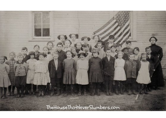 Bloomingport Friends Sunday School circa 1921 [Genealogy Photo]