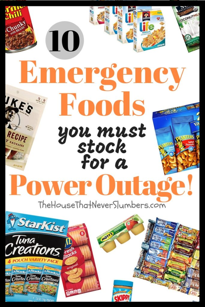 10 Emergency Foods You Must Stock for a Power Outage Situation - #survival #hurricane #homesteading #poweroutage #emergencyfood