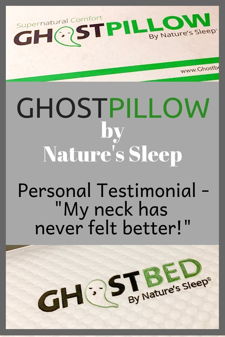 GhostPillow by Nature's Sleep - Personal Testimonial - #sponsored #sleep #pillow #sleeping #bedding #home