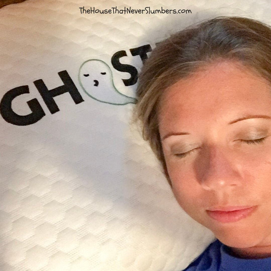 GhostPillow by Nature's Sleep - Personal Testimonial - #sleep #pillow #sleeping #bedding #home