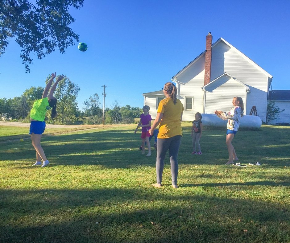 Goliath Games Brings Big Outdoor Fun to Church Youth Group - Beach Soccer Ball #games #familyfun #GoliathGames #camping #outdoors #youthgroup