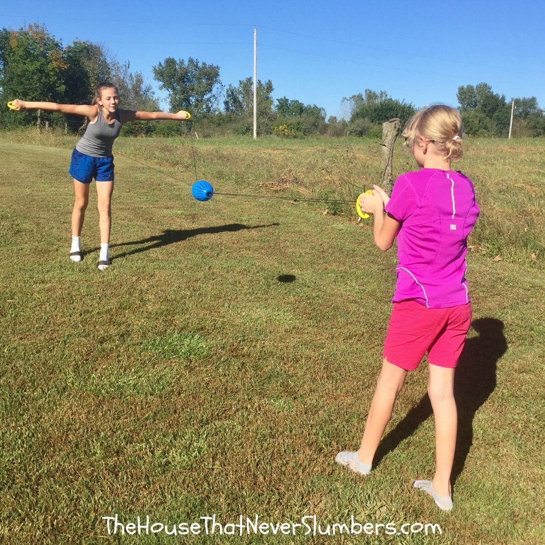 Goliath Games Brings Big Outdoor Fun to Church Youth Group - #games #familyfun #GoliathGames #camping #outdoors #youthgroup