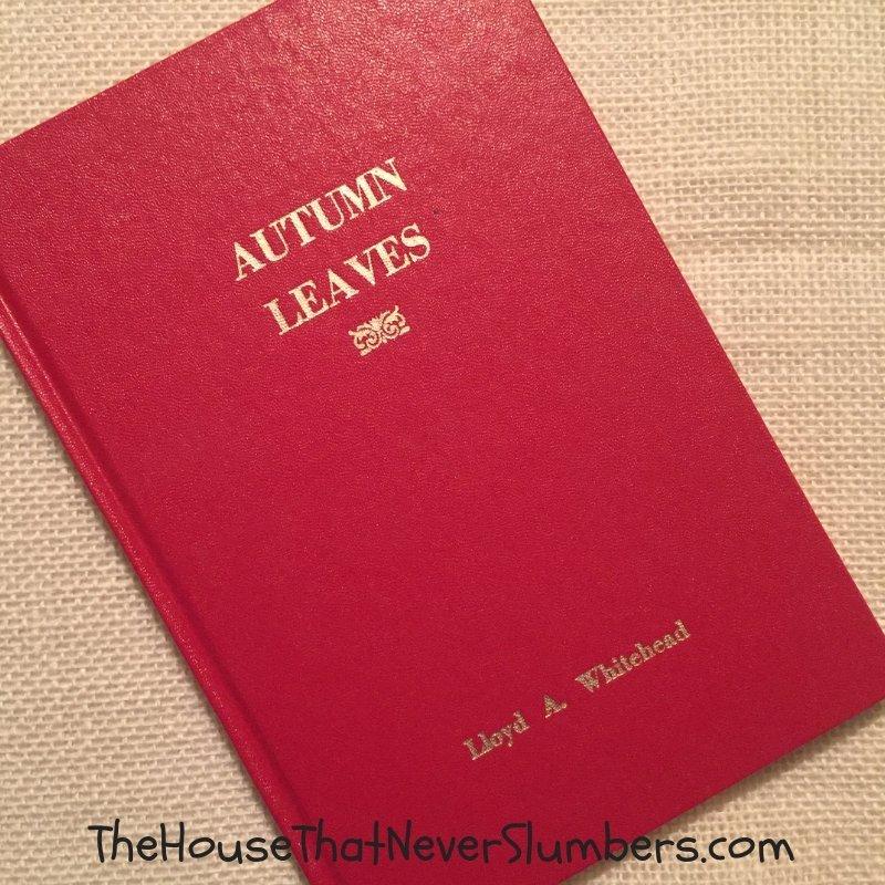 Lloyd Whitehead on Autumn Leaves in Indiana - Portrait #genealogy #familyhistory #ancestry #indianahistory #ruralindiana #modocindiana #hoosierhistory #localhistory #autumn #autumnleaves #fall