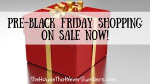 Pre Black Friday Shopping - #blackfriday #holidayshopping #christmasshopping #christmasgifts #shopping #deals #preblackfriday #budgetshopping