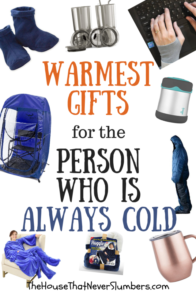 Warmest Gifts for the Person Who is Always Cold - Find the perfect gift for that person in your life who is always cold! #coldweather #winter #giftguide #giftsformom #perfectgift #shopping