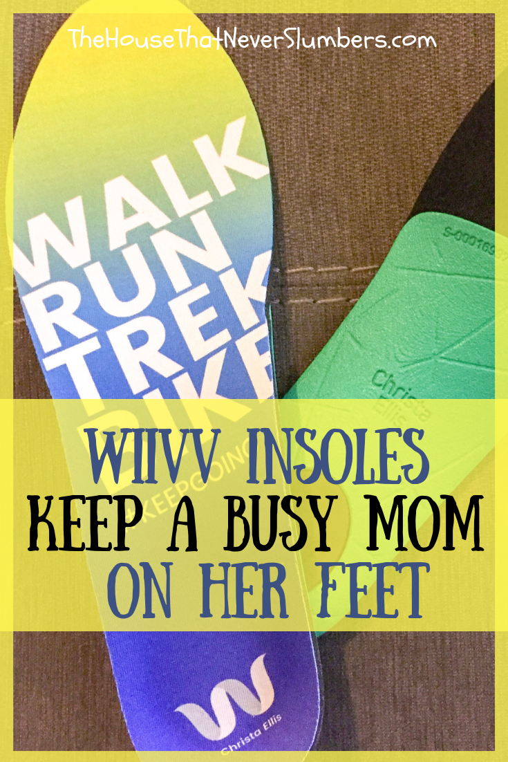 Wiivv Insoles Keep a Busy Mom on Her Feet - #Wiivv #insoles #shoes #athletics #comfort #custominsoles #feet #momlife