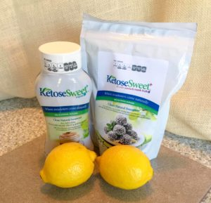 Keto Lemon Chia Custard - You must try this spectacular Keto dessert made with KetoseSweet+! It's so good, your friends will never know it's Keto. #keto #ketodesserts #lemon #steviva #sweetandeasy #ketosesweet #lowcarb #desserts