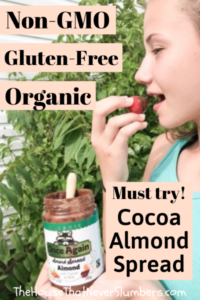 Once Again Organic Amore Almond Spread with Cocoa