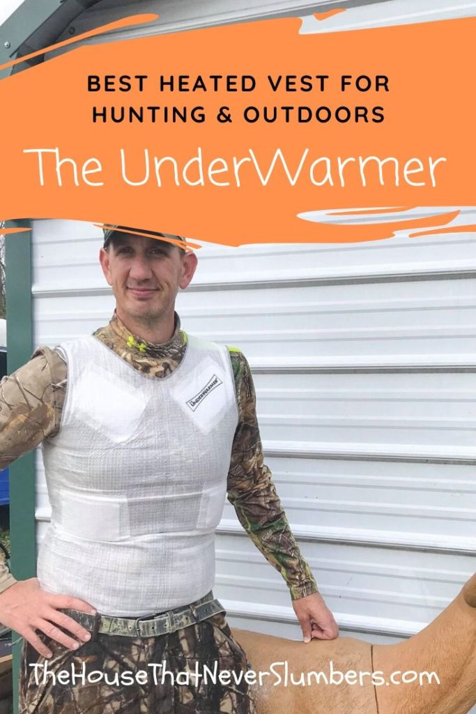 Hunter Wearing The Underwarmer Heated Vest